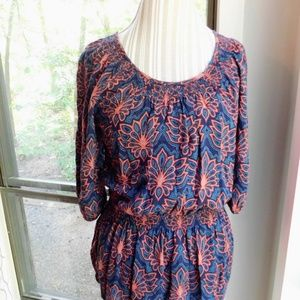 Mossimo Supply Co. Tops - Boho top, Loose fitting, flowy, floral, scoop